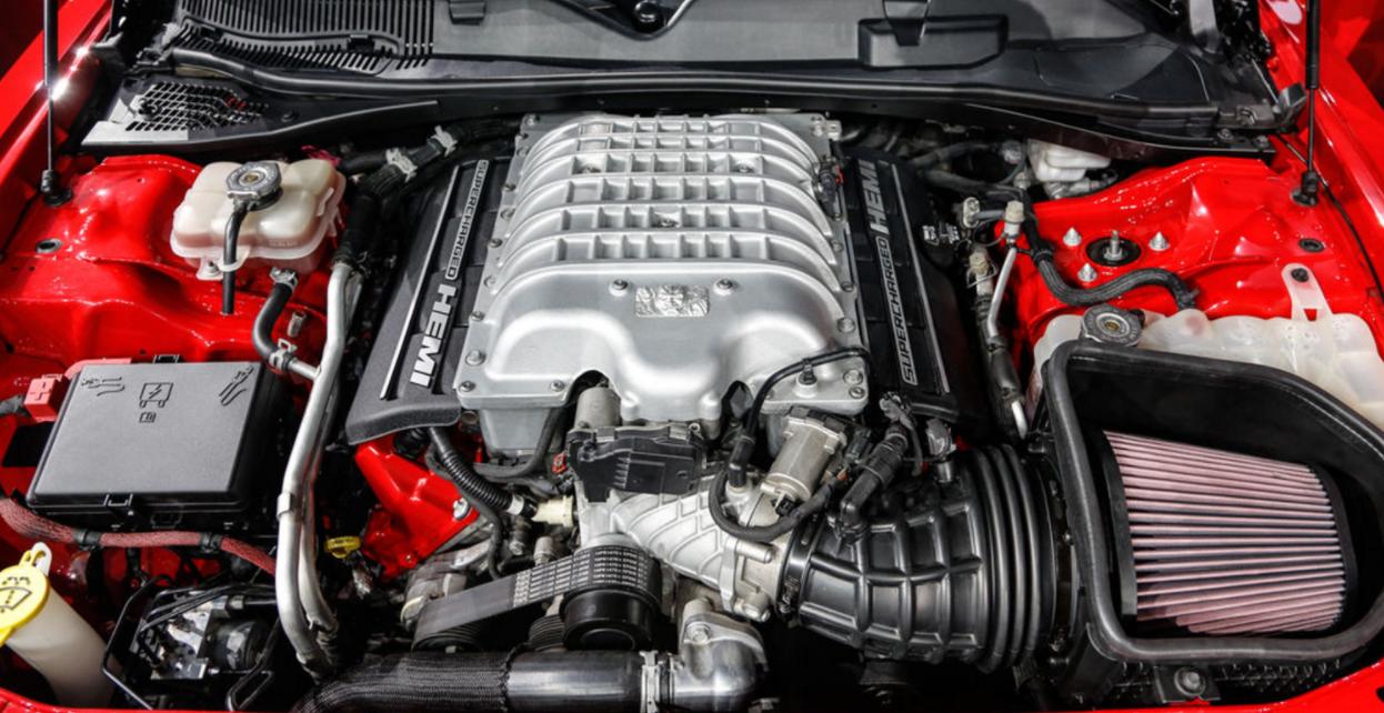 2023 Dodge Challenger SRT Demon Engine
