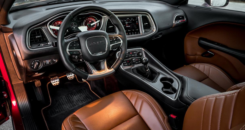 2023 Dodge Challenger SRT Demon Interior