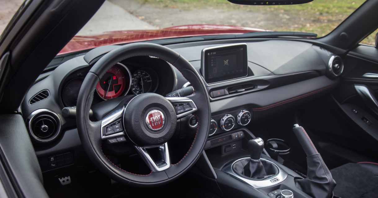 2023 Fiat 124 Abarth Spider Interior