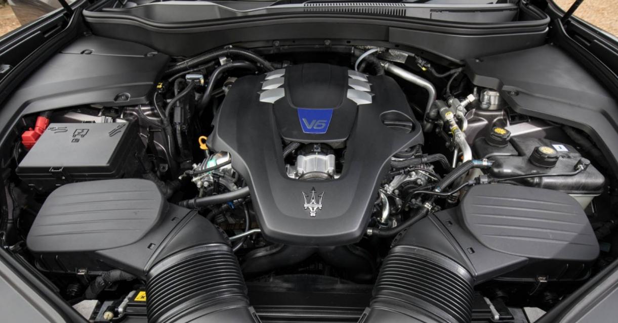2023 Maserati Granturismo Engine