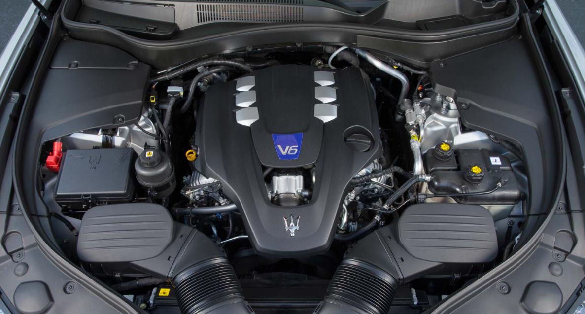 2023 Maserati Levante Engine