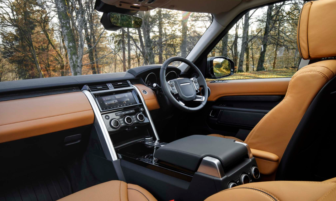 2023 Land Rover Discovery Interior