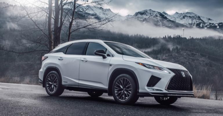 2023 Lexus RX 350 L Exterior