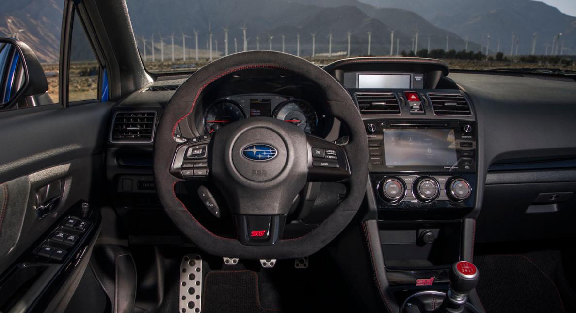 2023 Subaru WRX STI Interior